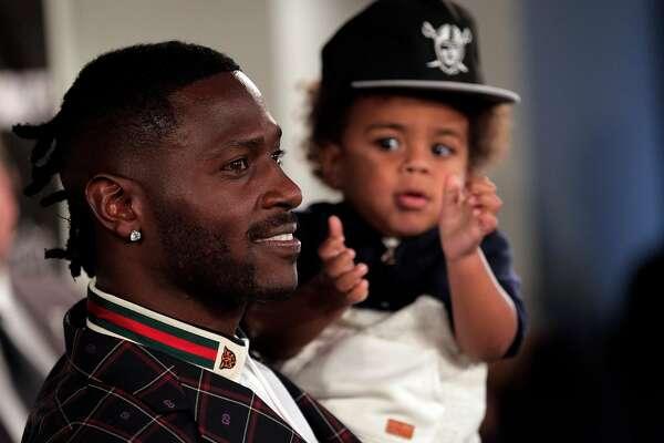 Antonio Brown Son >> Raiders New Receiver Antonio Brown Vows To Bring