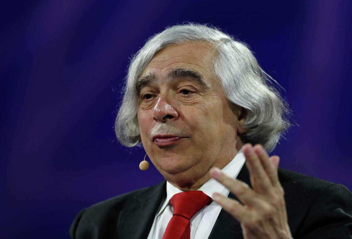 Ernest Moniz, the former U.S. energy secretary, said policy makers need to address climate change, but they need to consider the socioeconomic impact.