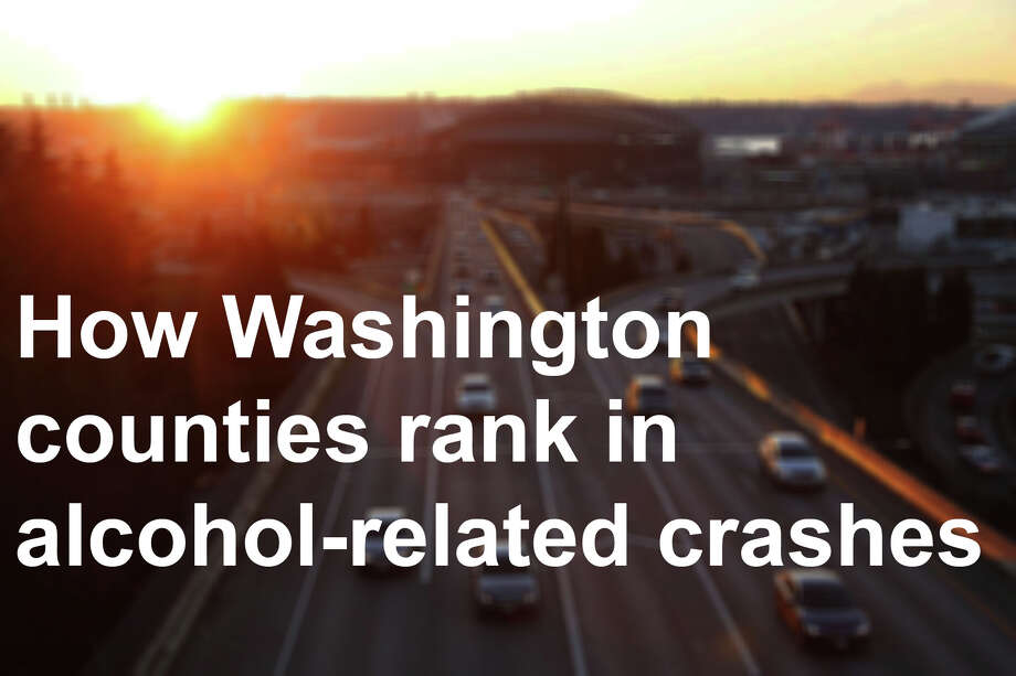 Here's how they rank in terms of how often alcohol factor into each county's crashes, based on data from the Washington State Department of Transportation. Read on. Photo: Genna Martin/SeattlePI / SeattlePI
