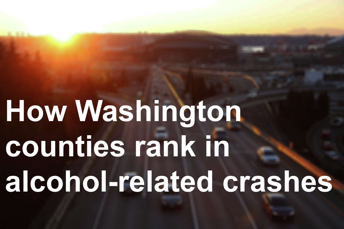 Here's how they rank in terms of how often alcohol factor into each county's crashes, based on data from the Washington State Department of Transportation. Read on.