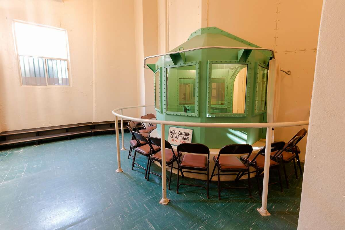 SAN QUENTIN, CA - MARCH 13: In this handout photo provided by California Department of Corrections and Rehabilitation, San Quentin's death row gas chamber is shown before being dismantled at San Quentin State Prison on March 13, 2019 in San Quentin, California. California Governor Gavin Newsom announced today a moratorium on California's death penalty. California has 737 people on death row, the largest death row population in the United States. (Photo by California Department of Corrections and Rehabilitation via Getty Images)