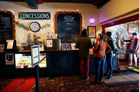 Concessions area at Balboa Theater in San Francisco, Calif., on Monday, March 11, 2019.