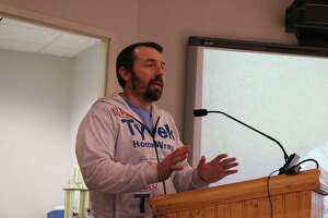 Members of the public voiced questions and concerns about the Wall Street-West Avenue plan at both the Common Council meeting on Tuesday, March 12, 2019 and the Redevelopment Agency meeting on Wednesday, March 13, 2019. Developer Jason Milligan voices his objections to the plan at the Council meeting.