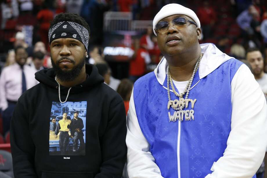 PHOTOS: Some of the celebrities at Wednesday's Rockets-Warriors game