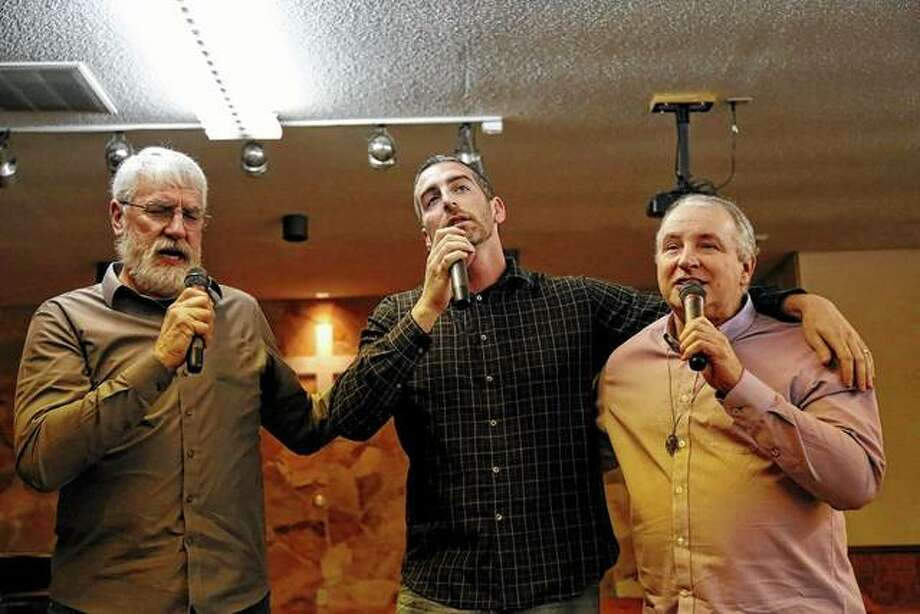 The musical trio Two by Two will be among the performers Saturday for the Green Pastures Christian Retreat Center's fundraising concert. Photo: Photo Provided
