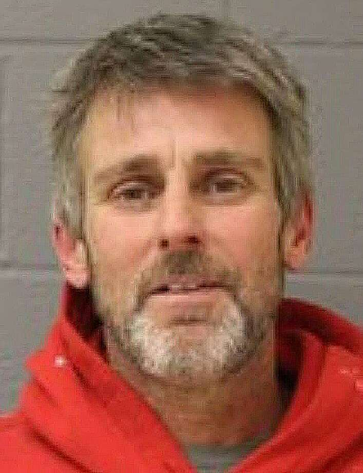 John Marlin, 53, of Shelton, was charged with burglary, larceny and criminal mischief in connection with the theft of copper from a Fairfield Hills building on Wednesday, March 13, 2019. Also charged was John Rodia, 49, also of Shelton. Photo: Newtown Police Photo