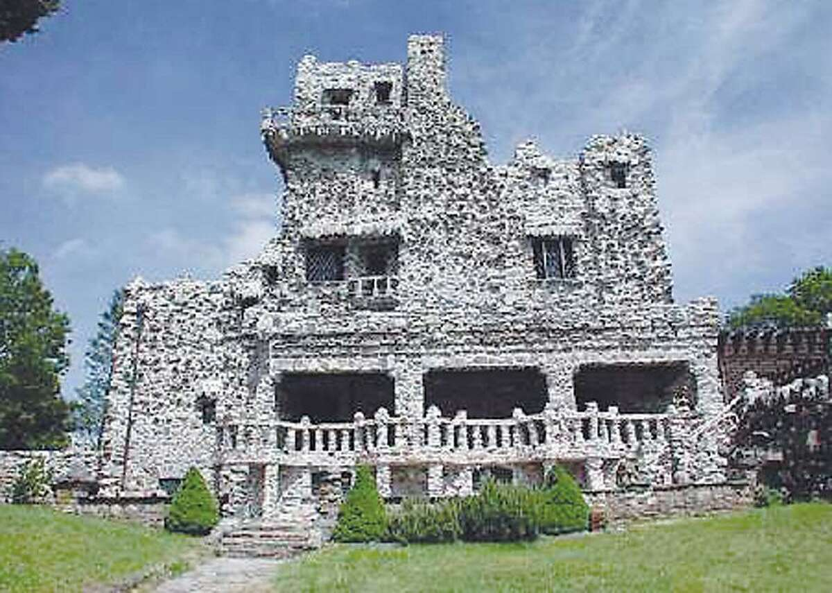 The Gillette Castle in East Haddam reopened in 2002 after being closed three years for repairs..................contributed photo in TW's folder.............050704