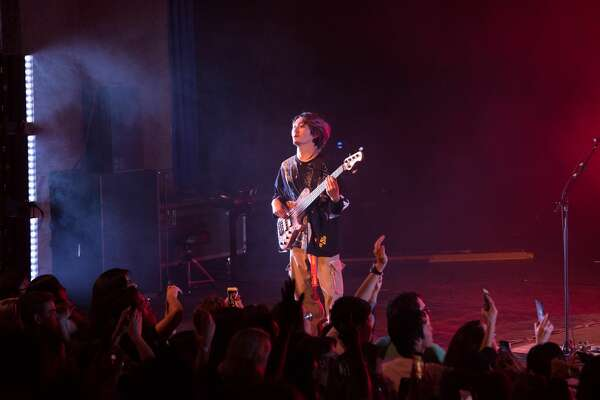 San Antonio's music scene rocked out at the Aztec Theatre Wednesday night as One OK Rock performed.