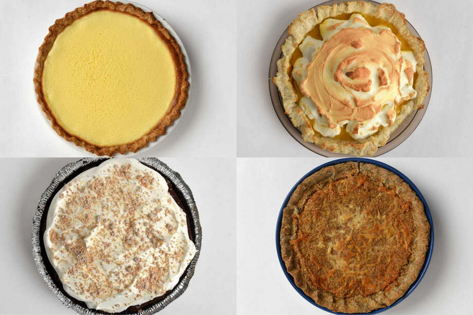A selection of pies for Pi Day 2019. Photo: Times Union