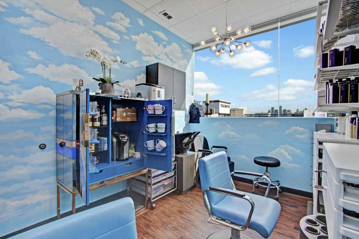 Hairdressers and other beauty professionals set up shop inside Phenix Salon Suites for their own businesses.