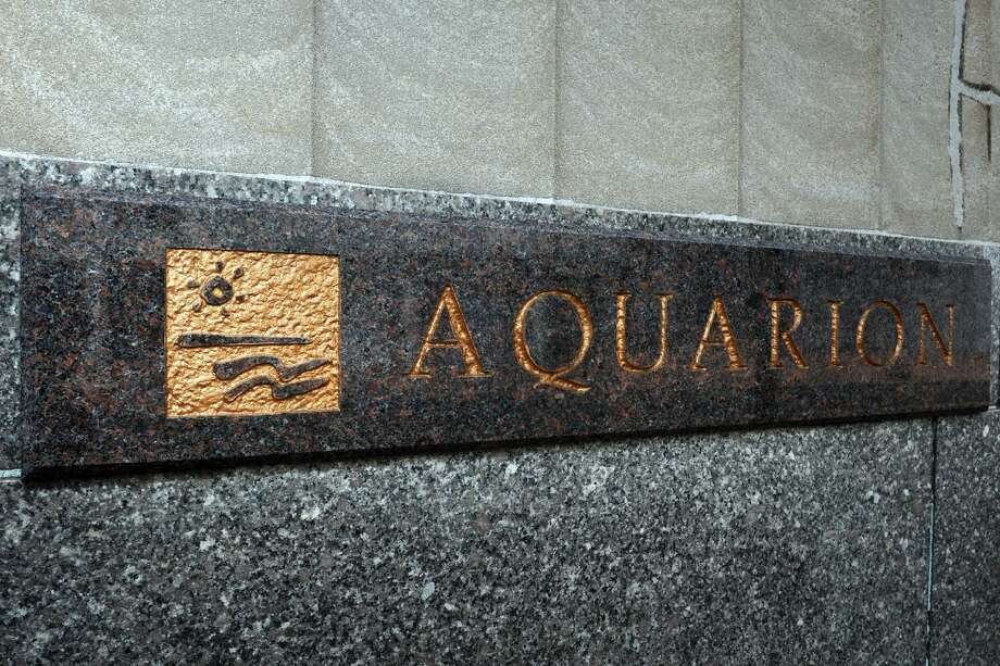 The Aquarion Water Company headquarters in Bridgeport, Conn. June 2, 2017. Photo: Ned Gerard / Hearst Connecticut Media / Connecticut Post