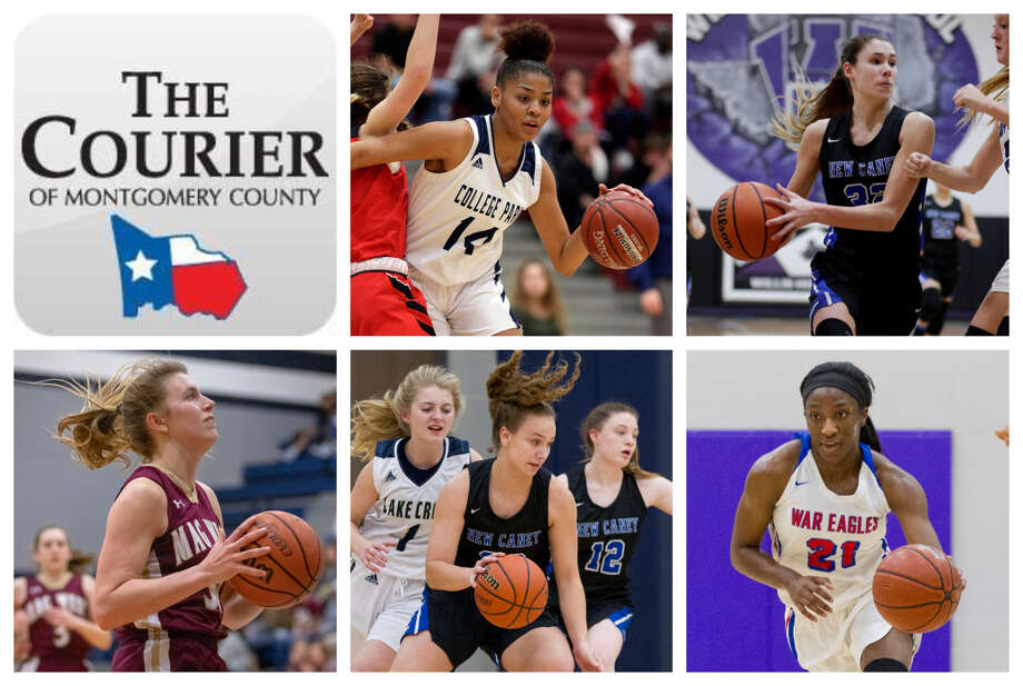 College Park's Sandra Cannady, New Caney's Tori Garza, Magnolia West's Hannah Eggleston, New Caney's Abigail Lynch and Oak Ridge's Alecia Whyte are The Courier's nominees for Offensive MVP. Photo: Staff Photos