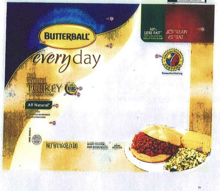 Ground turkey from Butterball is being recalled due to a potential salmonella contamination. Photo: Courtesy