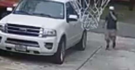 Investigators with Harris County Precinct 5 Constable Ted Heaps office are on the lookout for a car burglar. Just before noon, Feb. 28, 2019, the suspect drove up to a home, walked up the driveway, opened the door to a truck and stole items inside. Photo: Harris County Precinct 5 Constable's Office