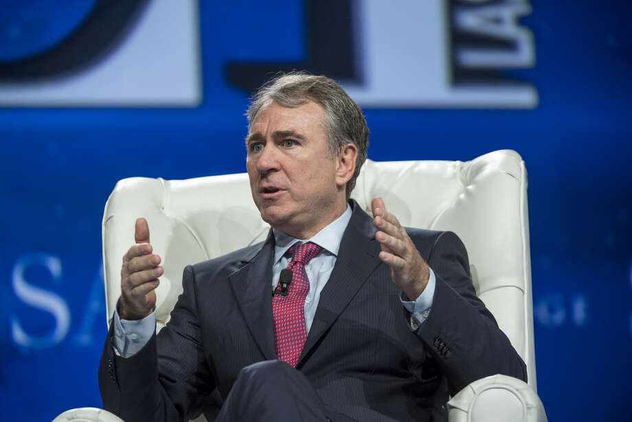 Ken Griffin speaks at the 2016 SALT Conference in Las Vegas. Photo: Bloomberg Photo By David Paul Morris. / © 2016 Bloomberg Finance LP