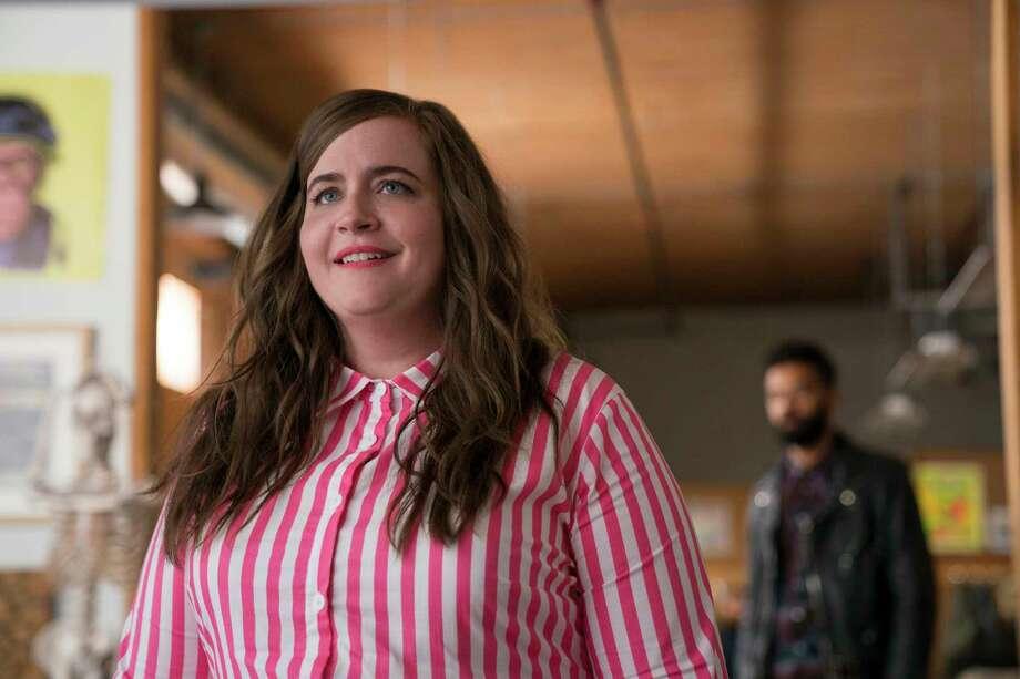 """Aidy Bryant as Annie in """"Shrill."""" Photo: Allyson Riggs, Hulu / 2019 Hulu"""