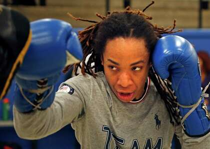 Ravven Brown is fighting in next week's Golden Glove boxing tournament at Lincoln Community Center on Thursday, February 7, 2019.