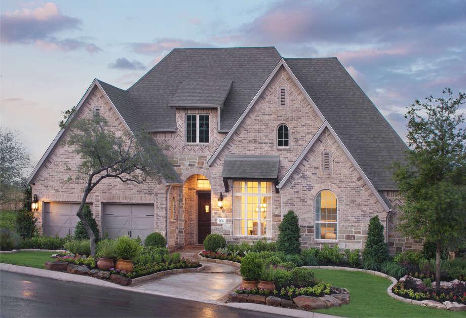 Builder: Highland Homes Community: Front Gate in Fair Oaks Ranch Address: 28702 Hidden Gate Fair Oaks Ranch TX 78015 Photo: Highland Homes
