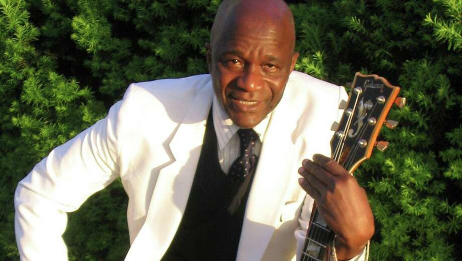 African jazz group The Mandingo Ambassadors, led by Guinean guitarist Mamady Kouyate, will play in Hamden July 5. Photo: Contributed Photo