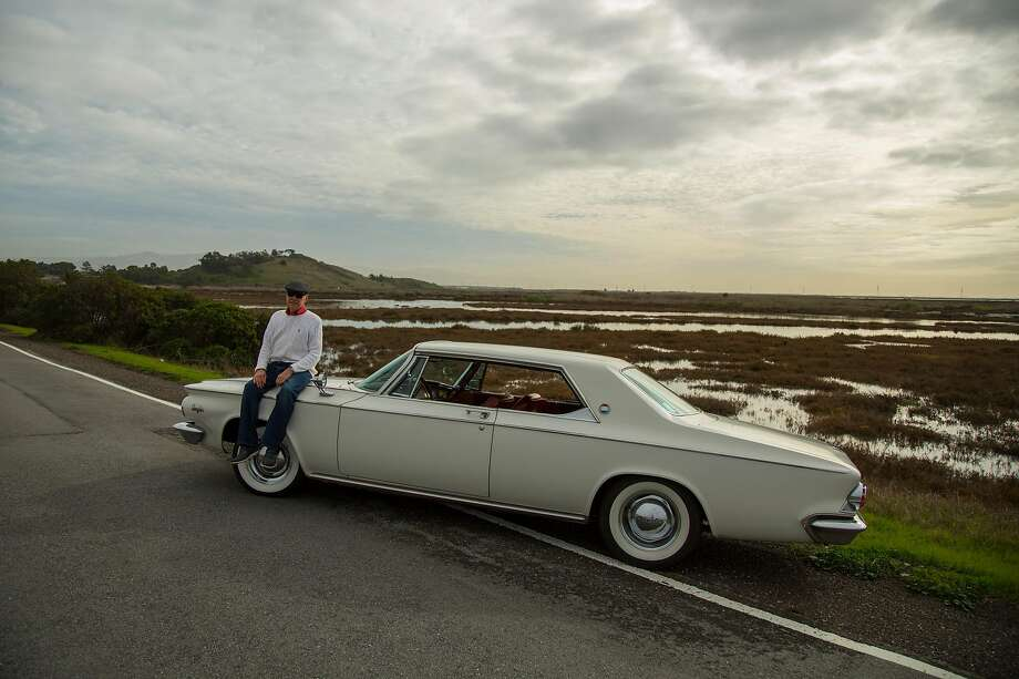 Larry Jett of Newark owns a 1963 Chrystler 300. Photo: Brian Feulner / Special To The Chronicle