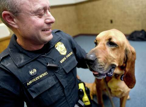CT police K-9 unit: 'It's like getting paid to go hunting every day