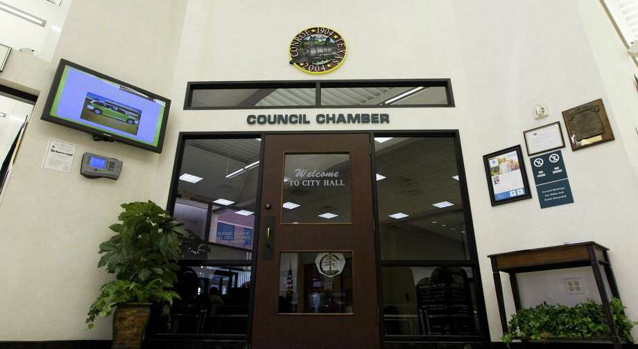 The Conroe City Council has approved a resolution to support the legislative change to allow a municipal utility district created in 2016 to stay as a district once annexed by the city. Photo: Jason Fochtman, Staff Photographer / Houston Chronicle / © 2018 Houston Chronicle