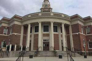 Memorial Town Hall in Hamden.