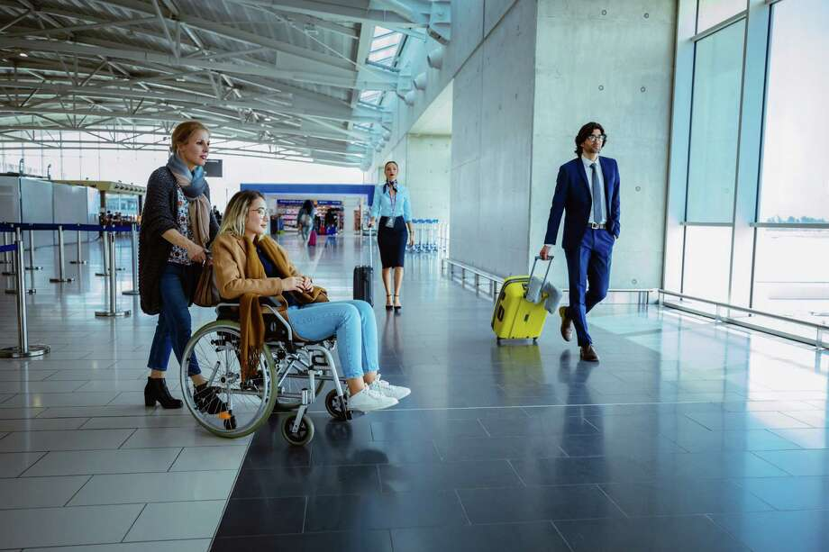 With some preparation, air travel can be even more accessible to wheelchair users. (Getty Images) Photo: Wundervisuals / E+