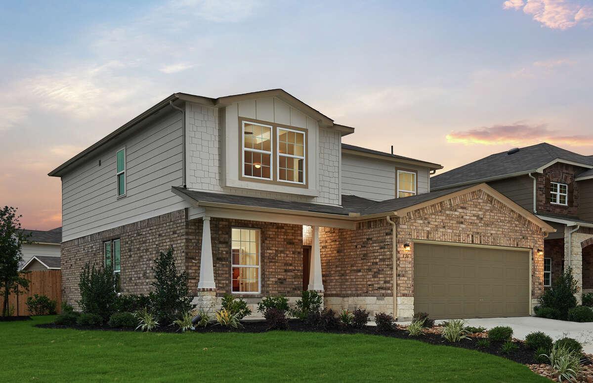 Builder: Centex Subdivision: Elley Crossing Address: 136 Rock Nettle, New Braunfels, TX 78130 Price: Model Home