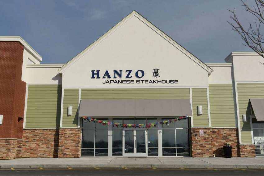 Exterior of Hanzo Japanese Steakhouse on Thursday, March 7, 2019 in North Greenbush, N.Y. (Lori Van Buren/Times Union)