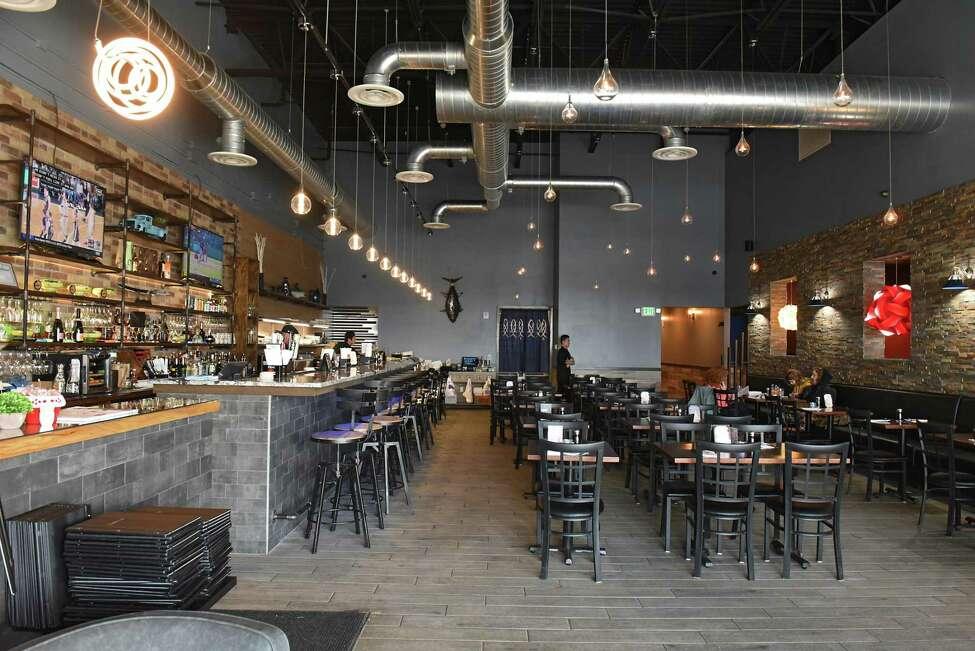 Interior of Hanzo Japanese Steakhouse on Thursday, March 7, 2019 in North Greenbush, N.Y. (Lori Van Buren/Times Union)