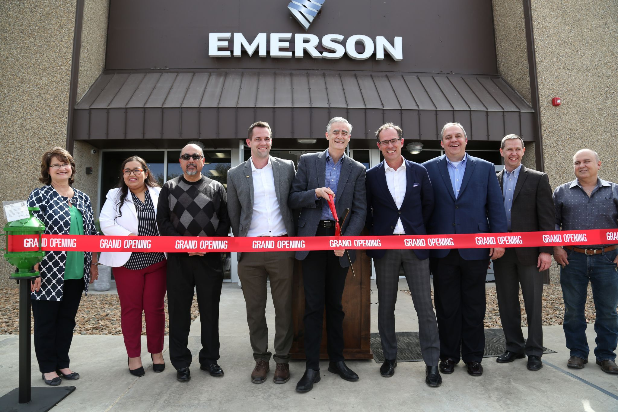 Emerson celebrates opening of new Permian Basin Service