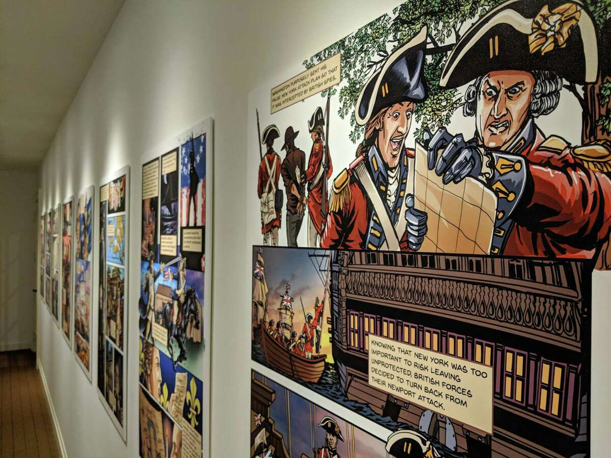 The Connecticut League of History Organizations has selected the Fairfield Museum and History Center's 2018 exhibition