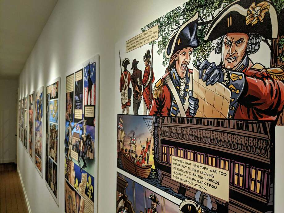 "The Connecticut League of History Organizations has selected the Fairfield Museum and History Center's 2018 exhibition ""Culper Ring: The Spies of George Washington"" for a CLHO Award of Merit. Photo: Contributed Photo"