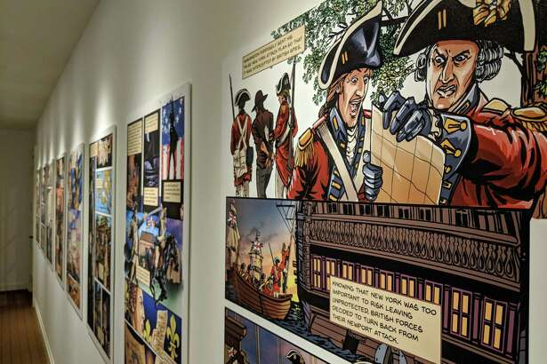 "The Connecticut League of History Organizations has selected the Fairfield Museum and History Center's 2018 exhibition ""Culper Ring: The Spies of George Washington"" for a CLHO Award of Merit."