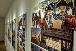 """The Connecticut League of History Organizations has selected the Fairfield Museum and History Center's 2018 exhibition """"Culper Ring: The Spies of George Washington"""" for a CLHO Award of Merit."""