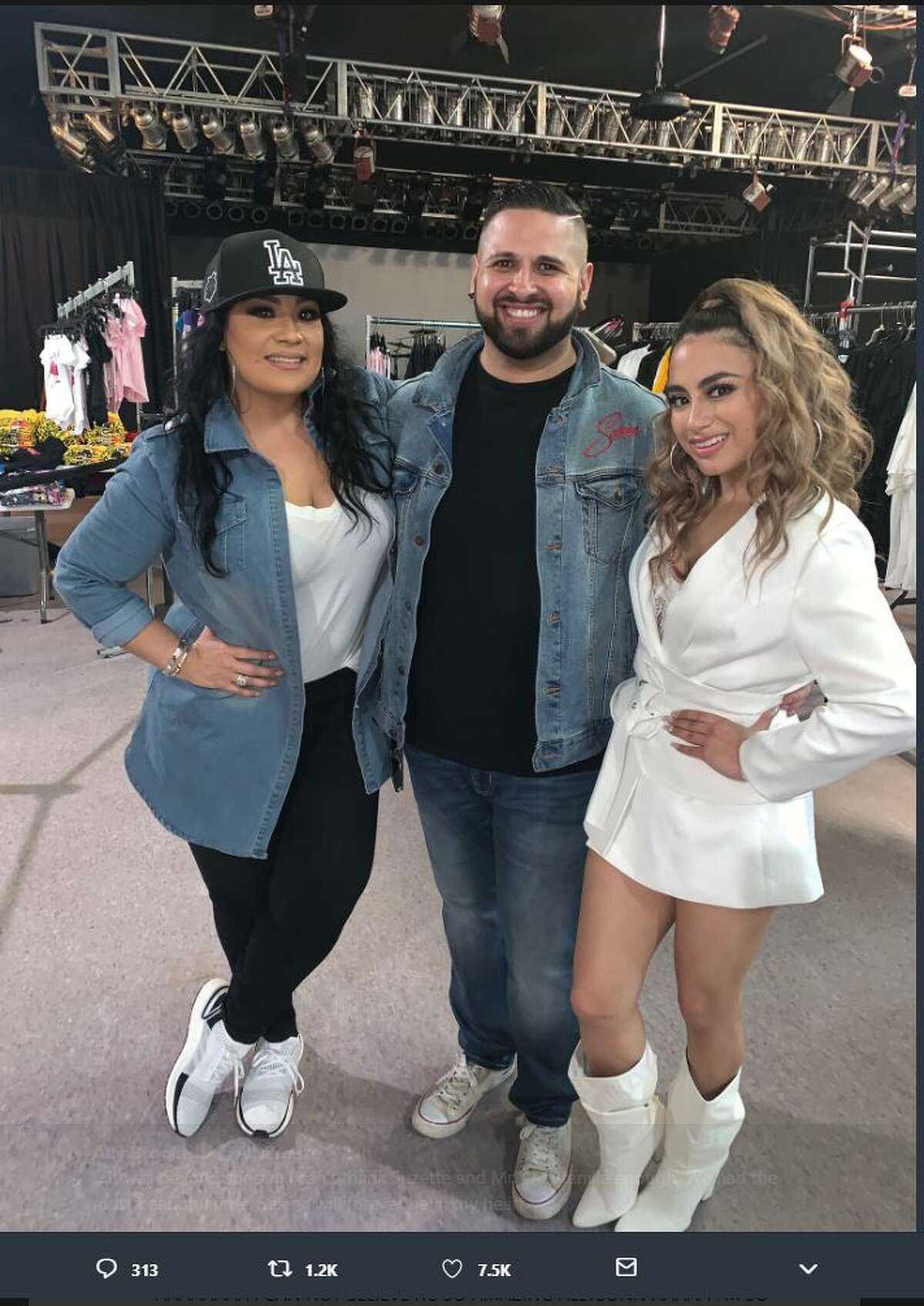 San Antonio pop star Ally Brooke gushed about her meeting with Selena Quintanilla-Perez's family on the 25th anniversary of the Amor Prohibido album's premiere.