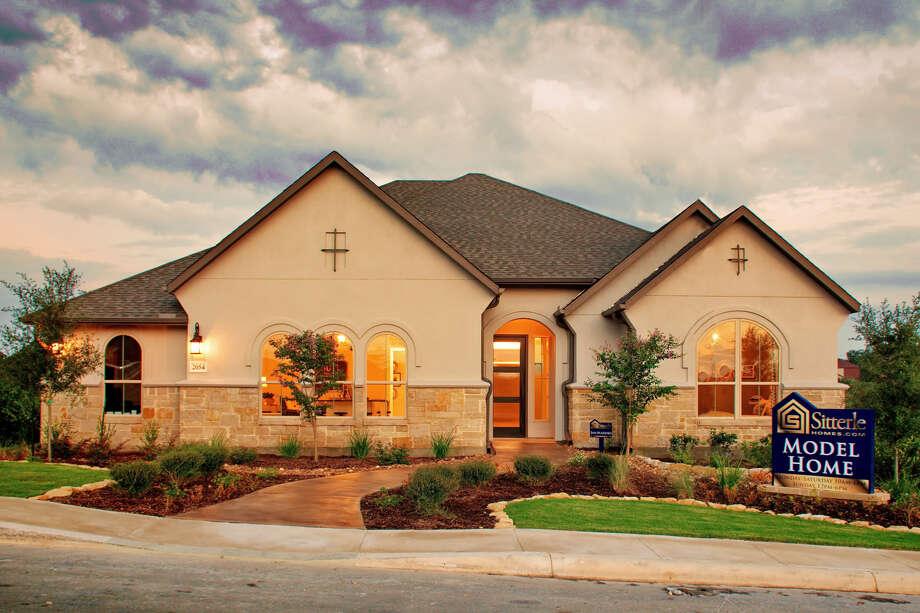 Builder: Sitterle Homes Subdivision: Fronterra at Westpoint Address: 2054 Buckner Pass, SA 78253 Price: $ 455-$490 Photo: Sitterle Homes