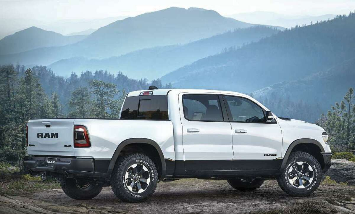 4. RAM 1500  - 8,073 new vehicles sold in the Houston area in 2018 - 2.6 percent market share