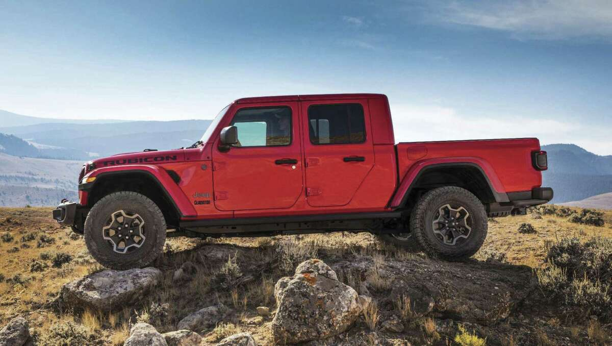 The Jeep pickup is due later this year in the form of the 2020 Gladiator. (Jeep photo)