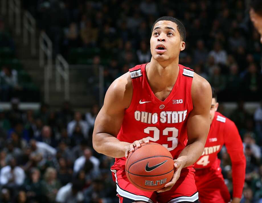 EAST LANSING, MI - FEBRUARY 17: Jaedon LeDee #23 of the Ohio State Buckeyes shoots a free throw in the second half against the Michigan State Spartans at Breslin Center on February 17, 2019 in East Lansing, Michigan. (Photo by Rey Del Rio/Getty Images) Photo: Rey Del Rio/Getty Images