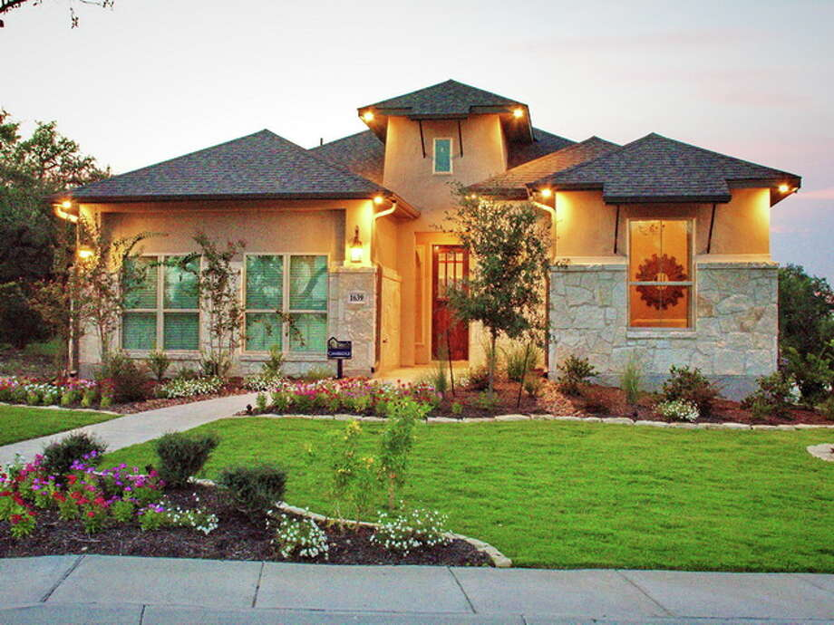 Builder: Sitterle Homes Subdivision: Settler's Ridge in Kinder Ranch Address: 1639 Bunchberry, SA 78260 Price: $337- 401 Photo: Sitterle Homes /