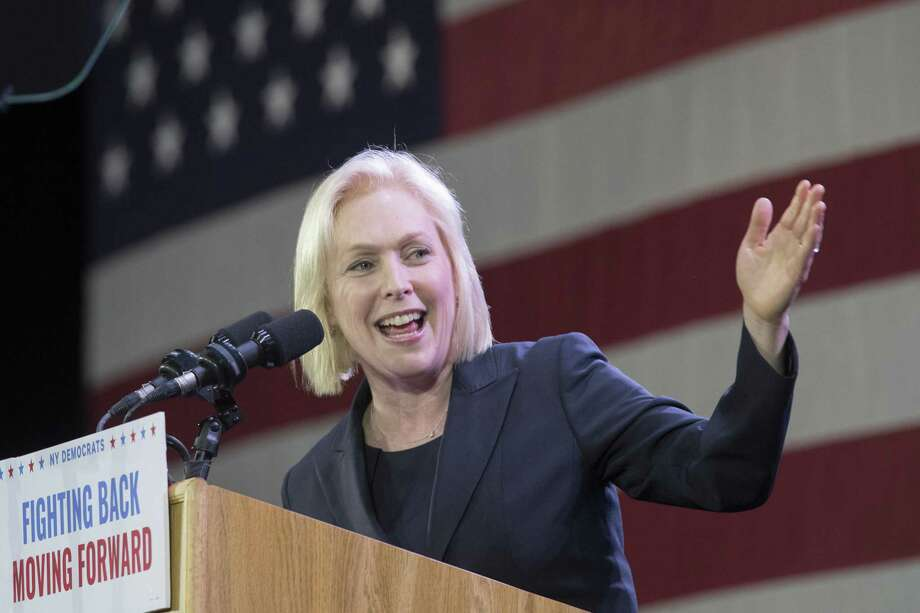 Sen. Kirsten Gillibrand fired a male staffer over sexual harassment claims only after Politico got wind of the alleged incidents. Her hypocrisy is rank. Photo: Mary Altaffer /Associated Press / Copyright 2019 The Associated Press. All rights reserved.