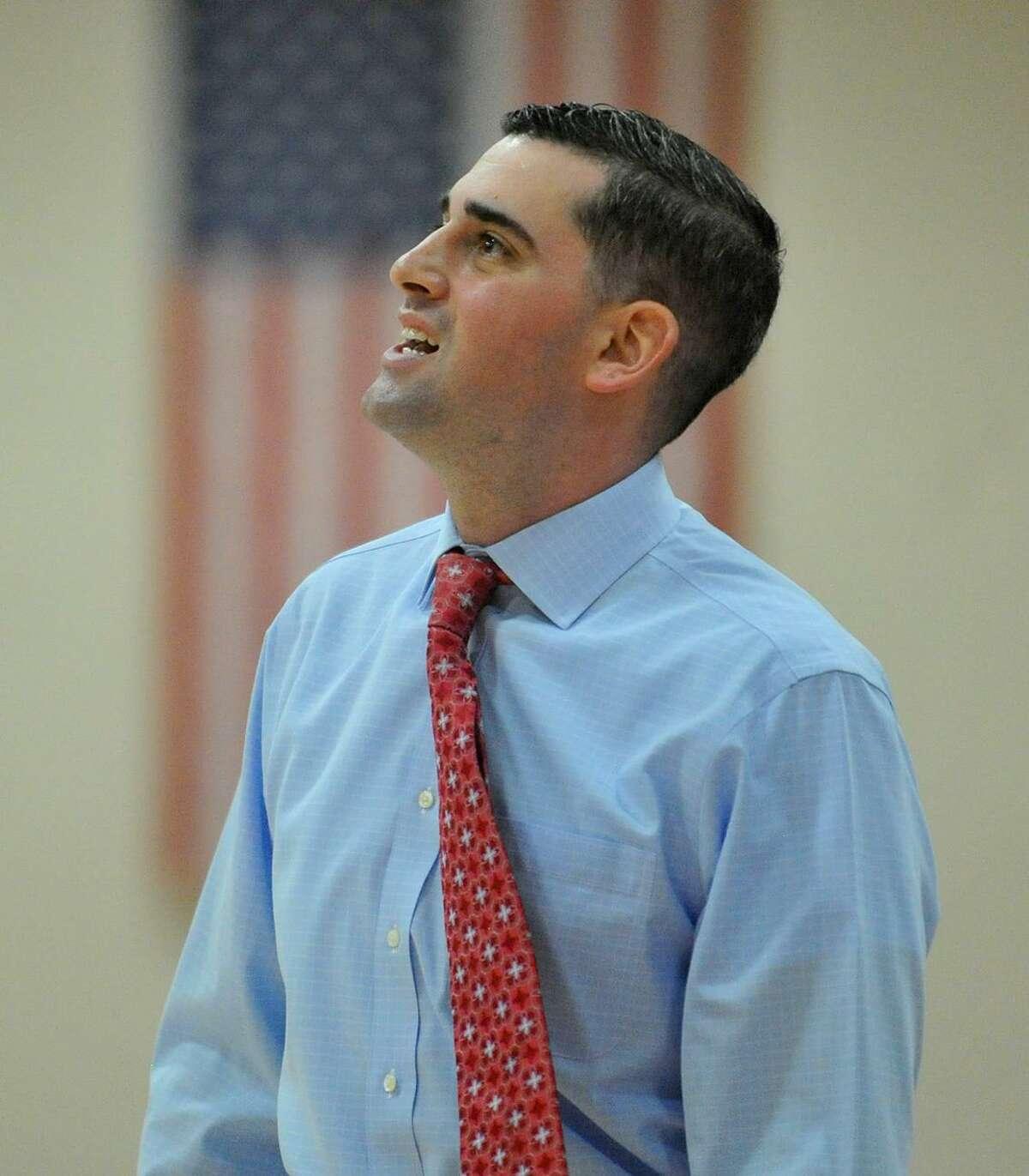 NC Sports New Canaan head coach Danny Melzer.
