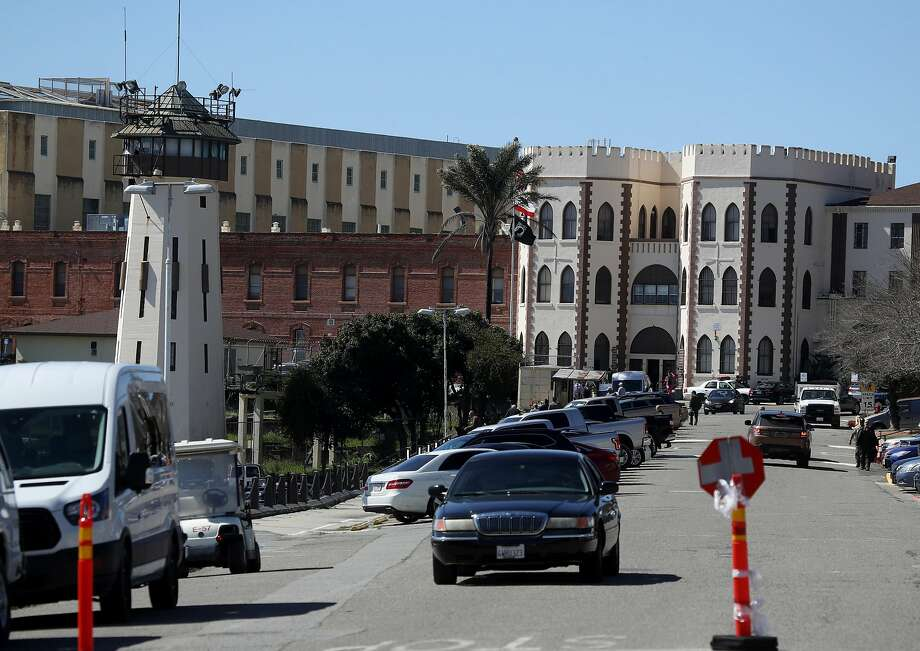 FILE - A view of San Quentin State Prison on Mar. 13, 2019 in San Quentin, California. Calif. A San Quentin State Prison death row inmate was found dead in his cell Saturday, a prison spokesman said Monday.  Photo: Justin Sullivan / Getty Images