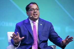Neil Chatterjee, chairman of U.S. Federal Energy Regulatory Commission (FERC), speaks during the 2019 CERAWeek by IHS Markit conference in Houston, Texas, U.S., on Thursday, March 14, 2019.