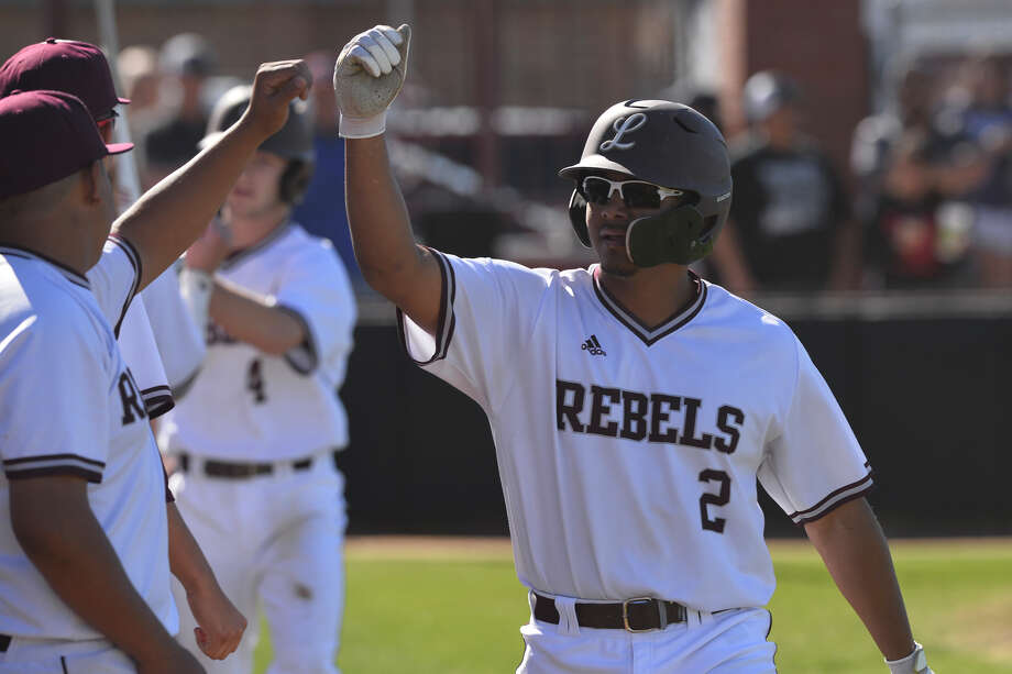 Lee's Jordan Matthews celebrates after scoring against Odessa Permian March 14, 2019, at Ernie Johnson Field. James Durbin / Reporter-Telegram Photo: James Durbin / Midland Reporter-Telegram / ? 2019 All Rights Reserved