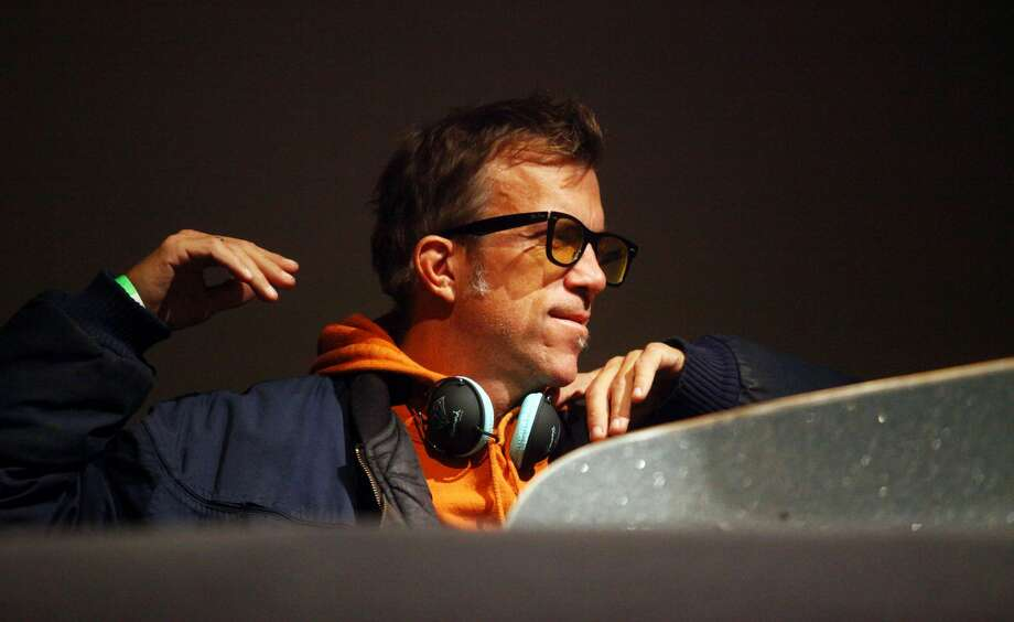 Editor in chief of Thrasher magazine Jake Phelps talks at The Museum of Modern Art on October 15, 2009 in New York City.  Phelps died Thursday of unknown causes, Thrasher magazine said in an Instagram post. Photo: Astrid Stawiarz/Getty Images