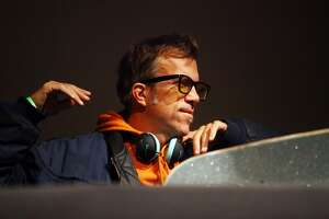 Editor in chief of Thrasher magazine Jake Phelps talks at The Museum of Modern Art on October 15, 2009 in New York City.  Phelps died Thursday of unknown causes, Thrasher magazine said in an Instagram post.
