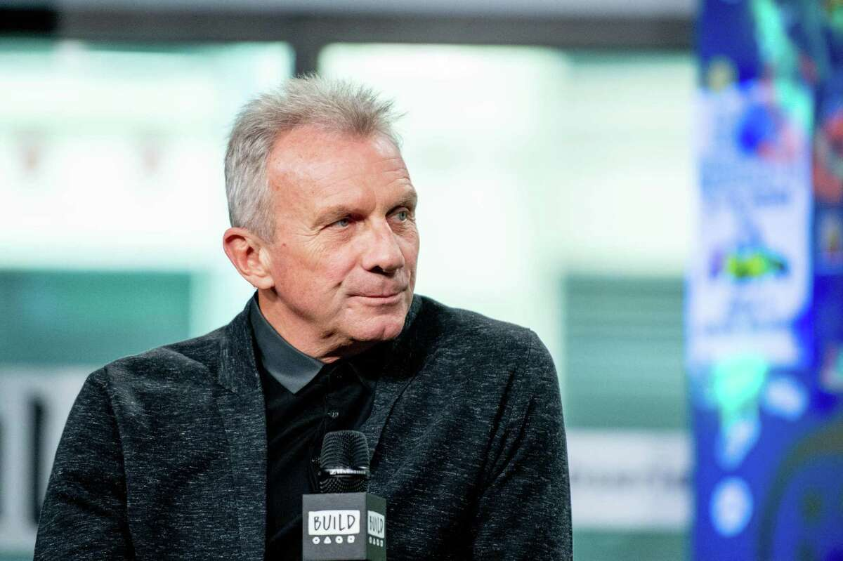 """Joe Montana discusses """"Breakaway from Heart Disease"""" with the Build Series at Build Studio on April 10, 2018 in New York City."""